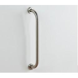 Straight inox handrail 60 cm Diameter 32