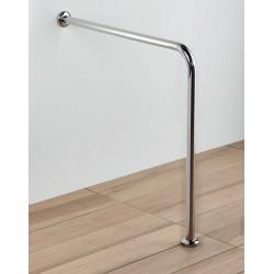 Floor to wall inox handrail 75 xm x height 75 cm Diameter 32