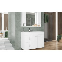 BATHROOM SET - MILITOS 100 WHITE